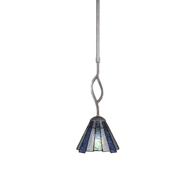 Revo 1-Light Mini Pendant Finish: Aged Silver