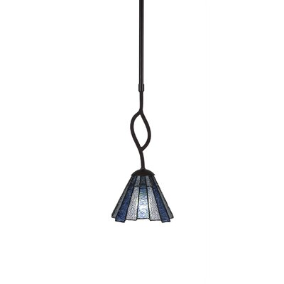 Revo 1-Light Mini Pendant Finish: Dark Granite