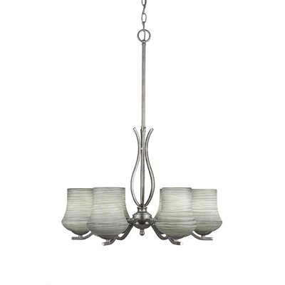 Revo 6-Light Shaded Chandelier
