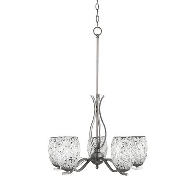 Revo 5-Light Shaded Chandelier