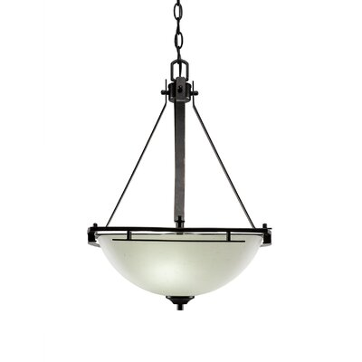 Mindi 3-Light Bowl Pendant