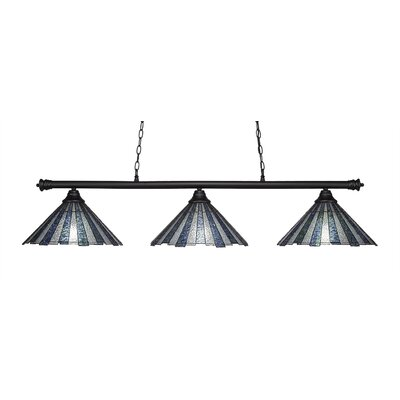 Passabe 3-Light 150W Kitchen Island Pendant
