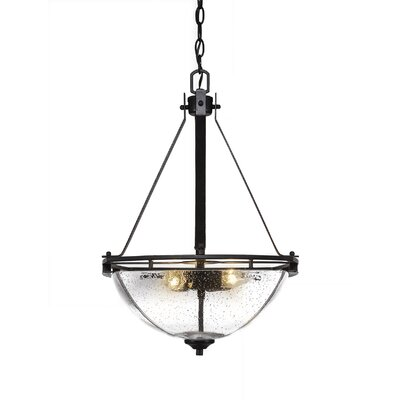 Sinclaire 3-Light Bowl Pendant