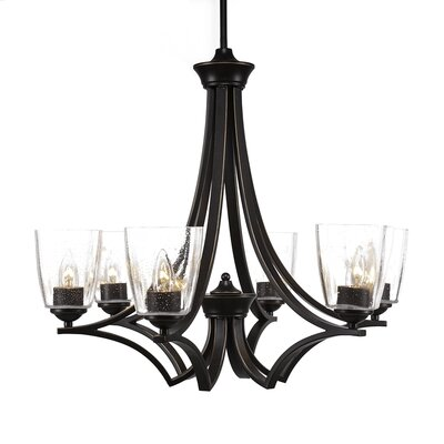 Zilo 6-Light Candle-Style Chandelier