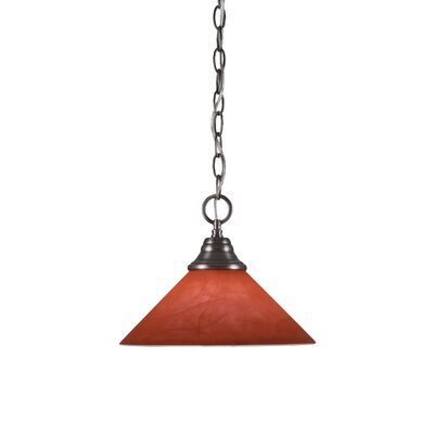 Any 1-Light Mini Pendant Finish: Brushed Nickel