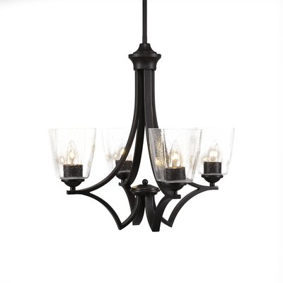 Zilo 4-Light Candle-Style Chandelier