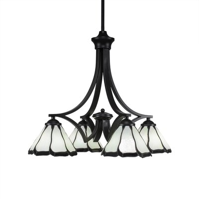 Zilo 4-Light Shaded Chandelier