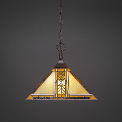 1-Light Pendant Finish: Dark Granite