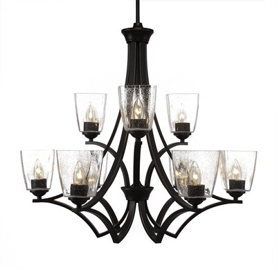 Zilo 9-Light Candle-Style Chandelier