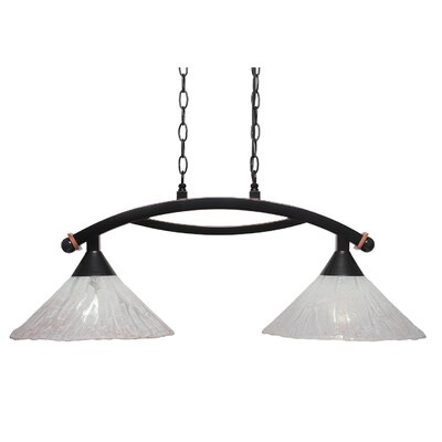 Bow 2-Light Kitchen Island Pendant