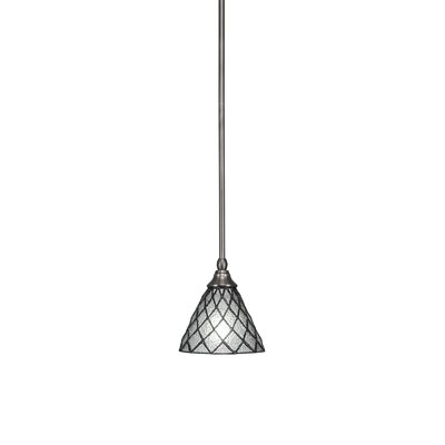 Any Stem 1-Light Mini Pendant Finish: Brushed Nickel