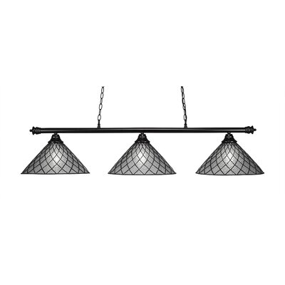 Oxford 3-Light Kitchen Island Pendant