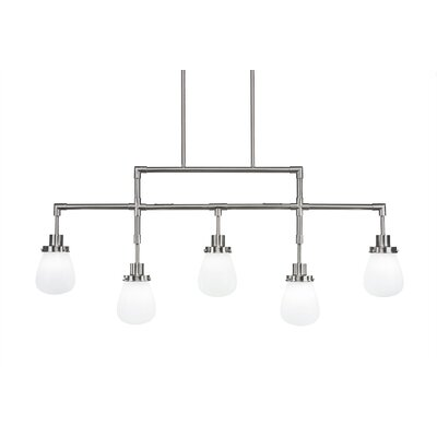 Meridian 5-Light Kitchen Island Pendant