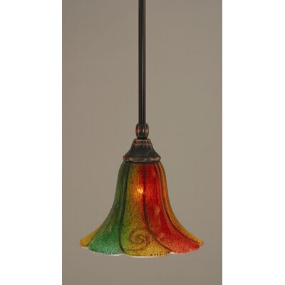 Stem 1-Light Mini Pendant Finish: Black Copper