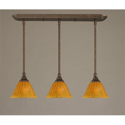 Multi Light Mini Pendant Finish: Brushed Nickel