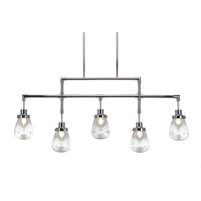 Sari 5-Light Kitchen Island Pendant