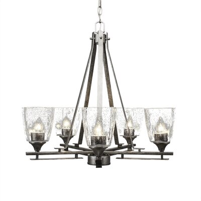 Sinclaire 5-Light Shaded Chandelier