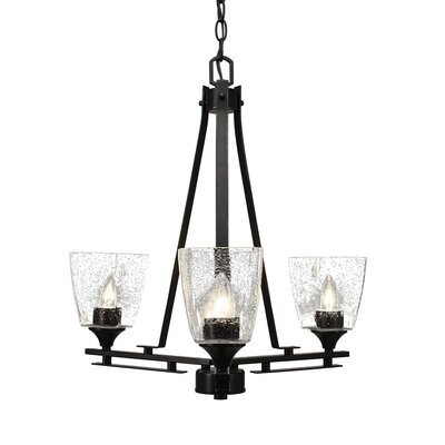 Sinclaire 3-Light Shaded Chandelier