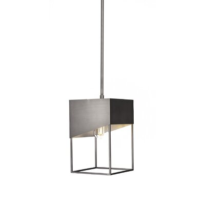Amend 1-Light Mini Pendant Finish: Brushed Nickel