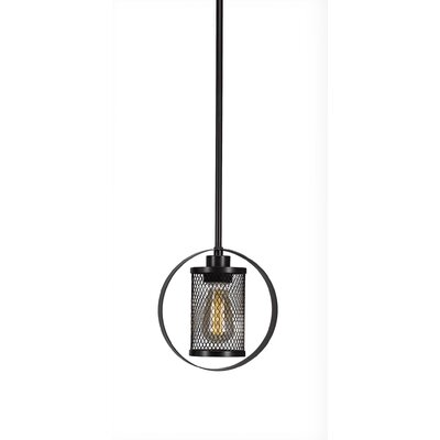 Deshotel 1-Light Mini Pendant Finish: Espresso