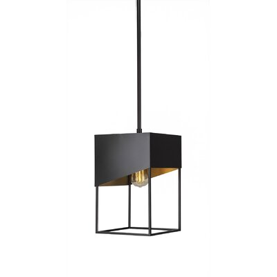 Amend 1-Light Mini Pendant Finish: Espresso