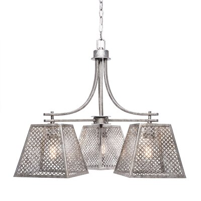 Giusto 3-Light Chandelier