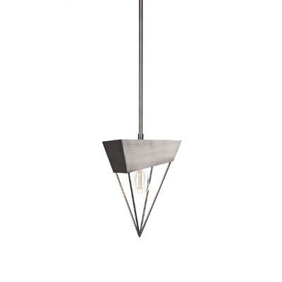 Amend 1-Light LED Mini Pendant Finish: Brushed Nickel