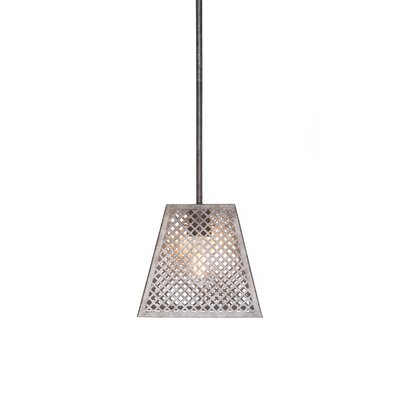 Giusto 1-Light Metal Shade Mini Pendant