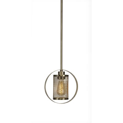 Deshotel 1-Light Mini Pendant Finish: New Aged Brass