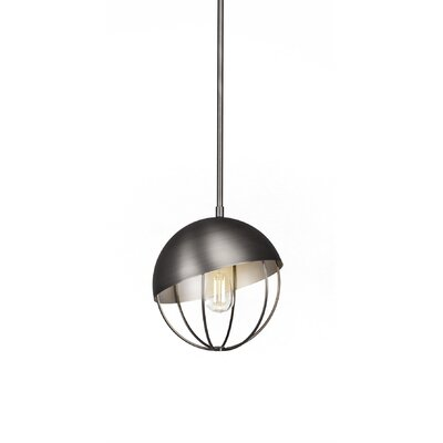 Amend 1-Light Globe Pendant Finish: Brushed Nickel