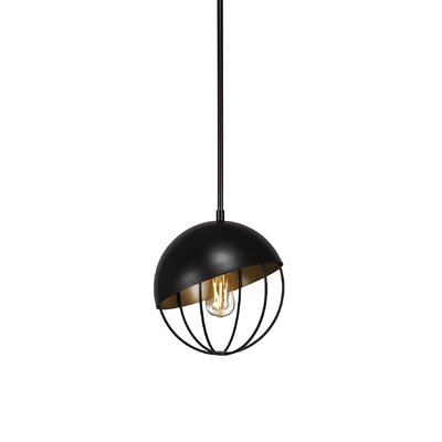 Amend 1-Light Globe Pendant Finish: Espresso