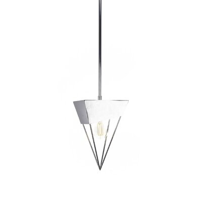 Amend 1-Light LED Mini Pendant Finish: Chrome