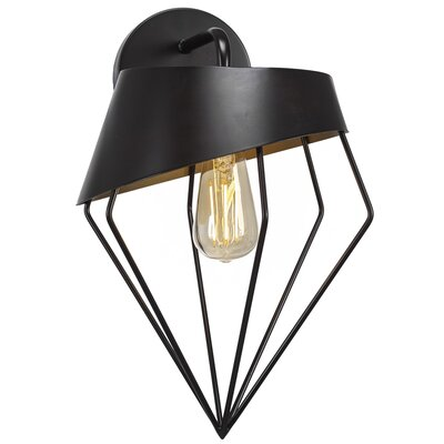 Brayden Studio Amend 1-Light LED Armed Sconce