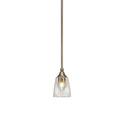 Cyprien 1-Light Mini Pendant Finish: New Age Brass