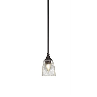 Cyprien 1-Light Mini Pendant Finish: Espresso