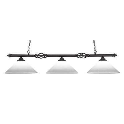 Pierro 3-Light Kitchen Island Pendant