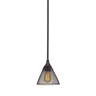 Du 1-Light Mini Pendant Finish: Dark Granite