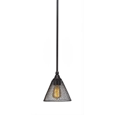 Du 1-Light Mini Pendant Finish: Espresso