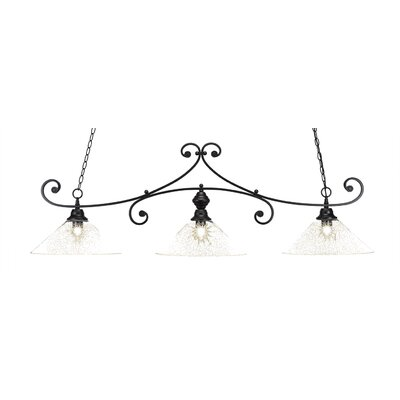 Marylin 3-Light Kitchen Island Pendant