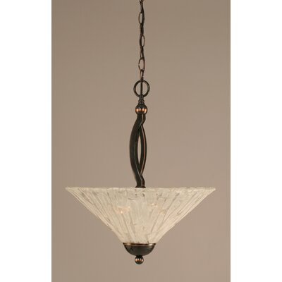 Eisenhauer 2-Light Inverted Pendant Finish: Black Copper