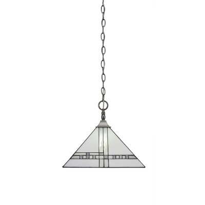 Khona Chain/Square 1-Light Mini Pendant