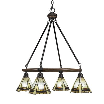 Pujari 4-Light Mini Chandelier