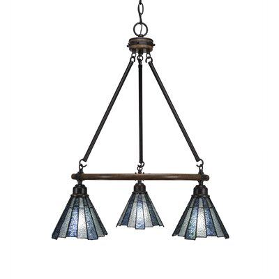 Pujari 3-Light Mini Chandelier