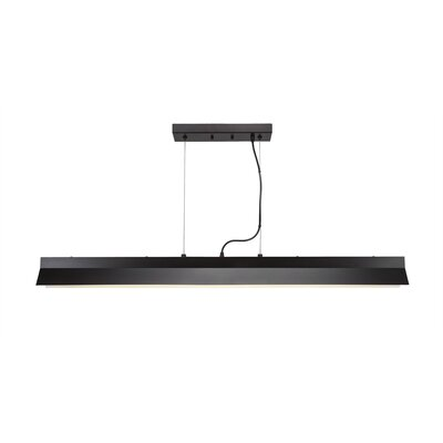 Wadsworth 1-Light Kitchen Island Pendant Finish: Espresso