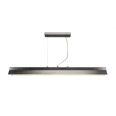 Wadsworth 1-Light Kitchen Island Pendant Finish: Graphite