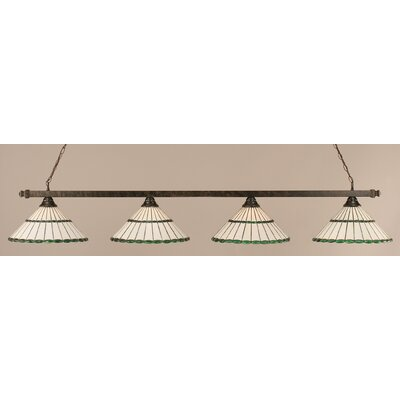 4-Light Billiard Light Finish: Bronze