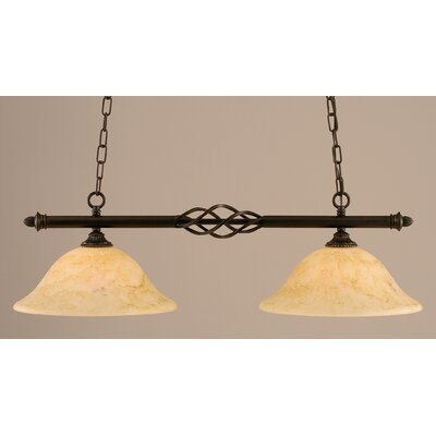 Elegant� 2-Light Pool Table Light
