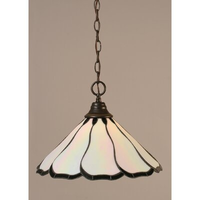 1-Light Downlight Pendant Finish: Dark Granite
