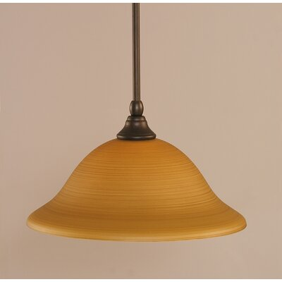 Stem 1-Light Mini Pendant Finish: Bronze
