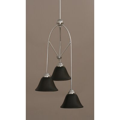 Contempo 3-Light Multi Mini Pendant With Hang Straight Swivel